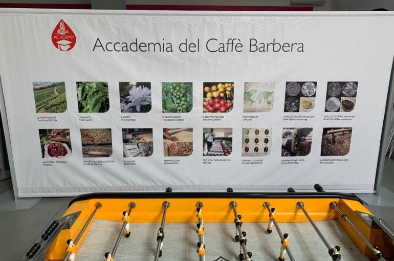 Strutture con banner per BARBERA spa