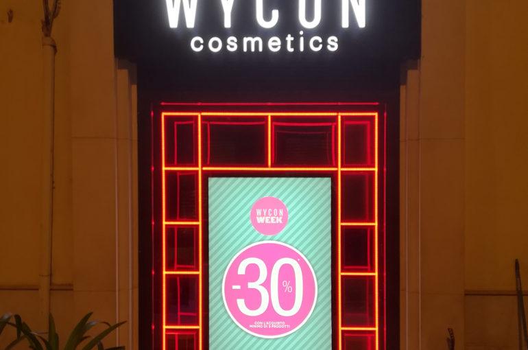 Restyling punto vendita WYCON Bari